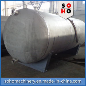 Horizontal Stainless Steel Storage Tank pictures & photos
