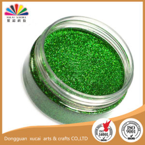 0.2mm Hexagon Laser Green Glitter Powder (LB601)