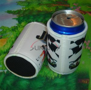 Neoprene Custom Sublimation Stubby Holder, Can Cooler, Stubby Cooler (BC0076) pictures & photos