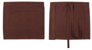 Adult Cotton Brown Advertising Apron pictures & photos