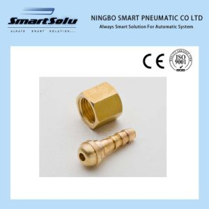 Ningbo Smart Clamp Metric Barbed Connector Brass Hose Split Fittings pictures & photos