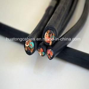 UL62 Certificate 4c14AWG Copper Conductor Epr Insulated CPE Rubber Sheach S, So, Soo, Sow, Soow Rubber Jacket Cable pictures & photos