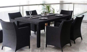 Outdoor Rattan Furniture Garden Leisure Modern Dining Table and Chair