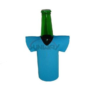 Promotional T-Shirt Beer Bottle Cooler, Neoprene Bottle Koozie, Bottle Sleeve (BC0047) pictures & photos
