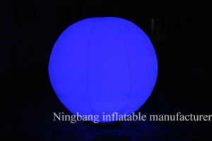 Changeable Lighting Inflatable Balloon for Decoration