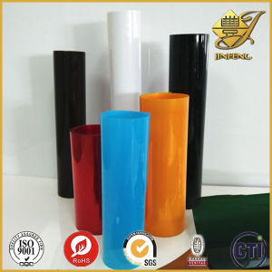 Colorful Transparent PVC Film in Roll pictures & photos