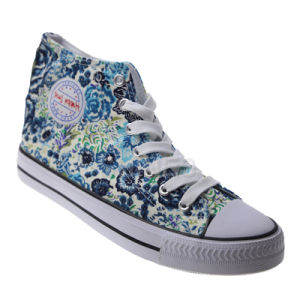 Froria Flowers High Top Vulcanized Shoes for Women