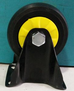 4-5 Inch Black Color Noiseless TPR Caster Wheel for Trolley pictures & photos