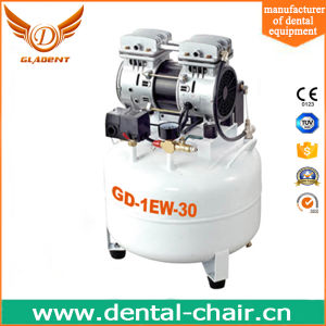 35L 1HP AC Power Piston Portable Mute Silent Low Noise Oil Free Medical Dental Air Compressor with Air Dryer pictures & photos