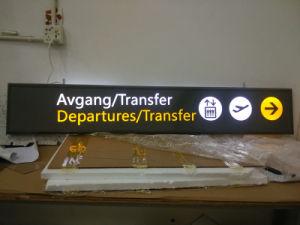 Indoor Outdoor Airport Metro Subway Suspended Wayfinding Directory Pylon Signage pictures & photos
