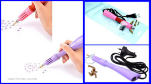 Wholesale Price Home Use Hot Fix Rhinestone Applicator Wand Pink Iron on Hot Fix Applicator pictures & photos