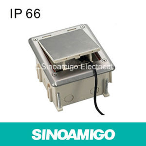 IP66 Waterproof Power Socket Floor Box pictures & photos