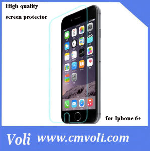 9h High Quality Screen Protector Tempered Glass for iPhone 6 Plus pictures & photos