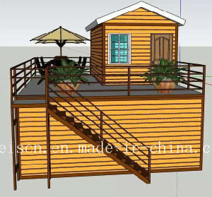 Simple Vacation Mobile Prefabricated/Prefab House/Villa for Large Quantity pictures & photos