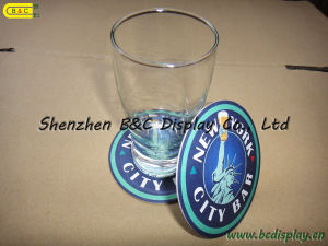 Cup Mat, Paper Coatser, Absorbent Coaster (B&C-G058) pictures & photos