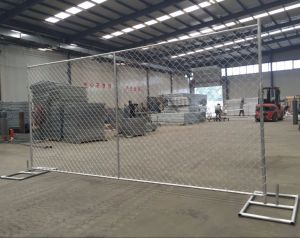 Galvanized Portable Chain Link Movable Temporary Fencing Panels pictures & photos