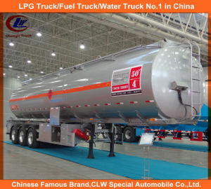 3 Axles Aluminum Fuel Tank Trailers 42, 000 Liters for Sale pictures & photos