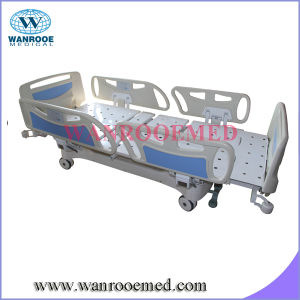 Electric Column Structure Electric Hospital Bed with Extension pictures & photos
