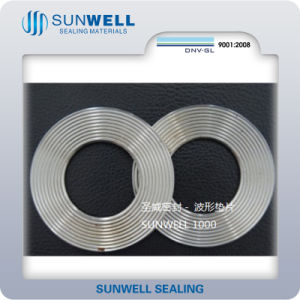 Corrugated Matel Gaskets (SUNWELL) pictures & photos