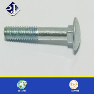 RoHS/TUV/SGS Fasteners Round Head Galvanized DIN603 M10 Carriage Bolt pictures & photos