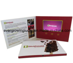 7inch LCD Display Video Brochure pictures & photos