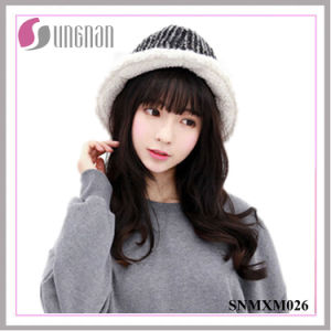 2015 Houndstooth Folding Fisherman Cap Thickened Sun Hats pictures & photos