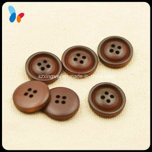 Custom Logo Vintage Round Wooden Button for Clothing pictures & photos
