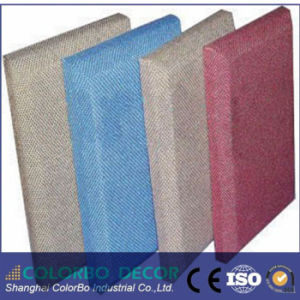 acoustic core material decorative fabric soundproof wall panel