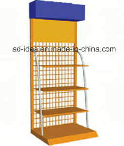 Multi Color Gondola Display Stand/ Cosmetics Gondola Display Stand pictures & photos