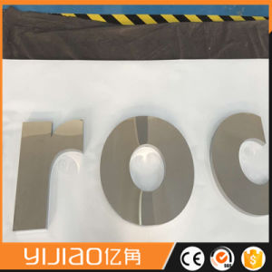 Fabricated Polished Steel Letter Stainless Steel Letter Sign pictures & photos