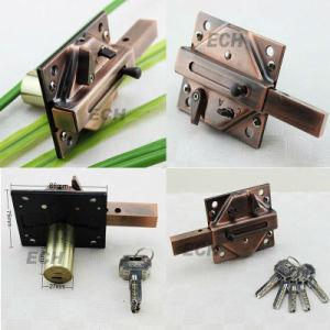 AC Iron Door Lock Deadbolt Mortise Lock Body (MLE020)