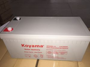 12V Deep Cycle Gel Storage Battery UPS Battery AGM Battery 100ah pictures & photos