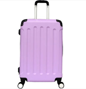 Cheap ABS Travel Trolley Luggage Suitcase with Corner Protective pictures & photos