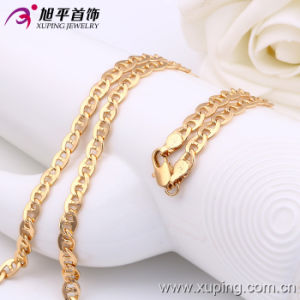 Xuping Fashion 18k Gold Color Necklace (42502) pictures & photos