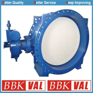 Butterfly Valve Double Eccentric Double Flange Butterfly Valve pictures & photos