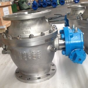 Forged Steel Trunnion Mounted Ball Valves (Q347)