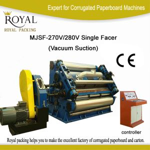 Corrugated Paperboard Single Facer with High Quality pictures & photos