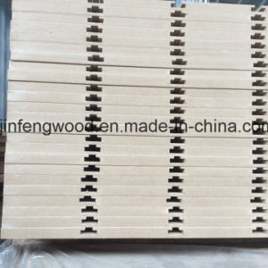 Full Poplar Core Melamine MDF with Slot pictures & photos
