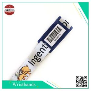 Event Polyester Woven Wristband with Different Code pictures & photos