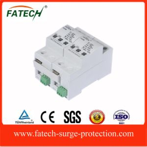 2015 China Products1p+N DIN Rail Electronic Equipment Lightning SPD Surge Protector 440V pictures & photos
