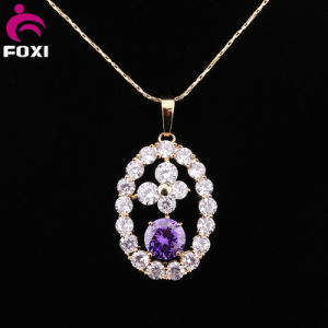 New Designed Zircon Gold Pendants Charm for Women pictures & photos