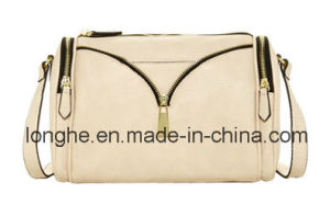 Front Decorative Metal Zip Crossbody Bag (LY0249) pictures & photos