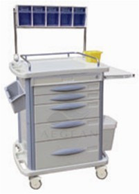 AG-At007b3 Ce&ISO Approved ABS Anesthesia Cart pictures & photos