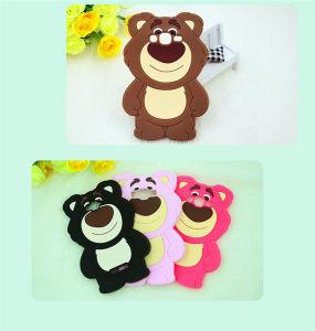 3D Carton Teddy Bear Silicone Phone Case for LG G4 Stylus K10 K7 K5 (XSDW-003) pictures & photos
