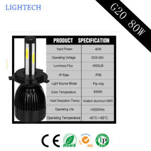Newest Auto Accessory H1 H3 H4 H7 Car LED Headlight pictures & photos