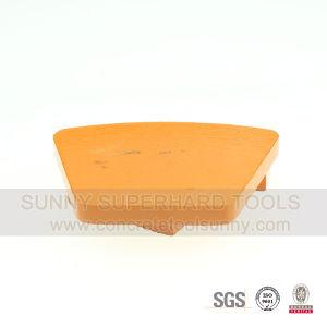 Trapezoid Concrete Metal Bond Grinding Shoes A19 pictures & photos