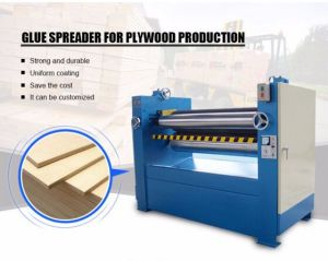 Woodworking Machinery Double Sides Glue Spreader for Plywood pictures & photos