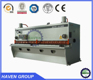 Hydraulic Guillotine Shearing Machine Steel Cutting Machine QC11Y pictures & photos