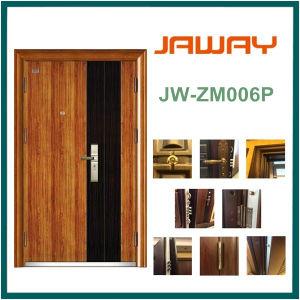 Steel Wooden Security Door, Wood Grain Surface Hot Sales pictures & photos