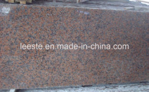 Popular Hottest Maple Red Granite Slab and Floor Tile pictures & photos